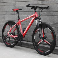 Adult Mountain Bike Three Knife Mountain Bike Riding City Sports and Leisure Off Road Light Racing