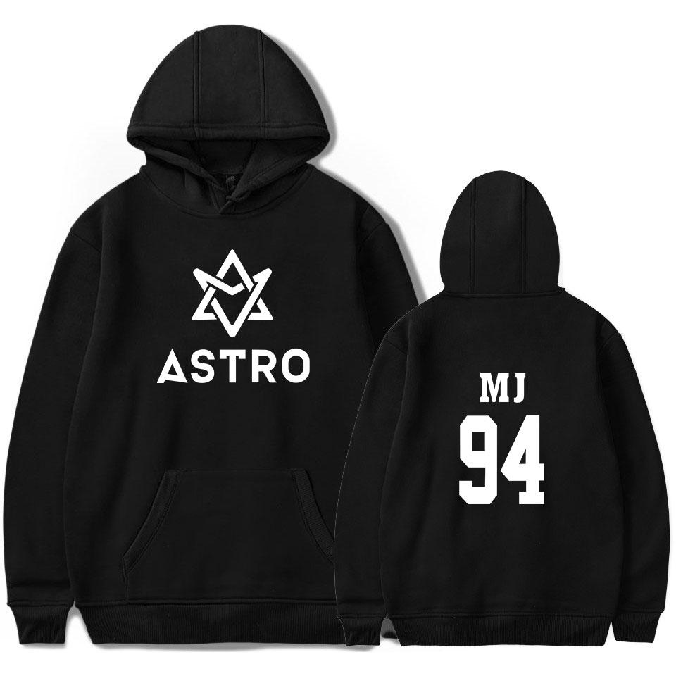 Kpop ASTRO STAR Group Printed Hoodies Moletom Harajuku Sweatshirt Casual Pullover Hoodie Streetwear Jacket Men/Women Clothing