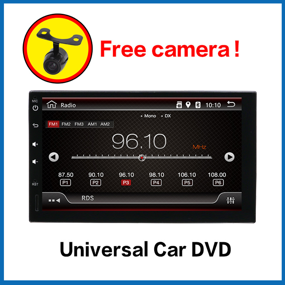 все цены на Car Multimedia Player Autoradio 2 din android 7.1 car dvd for nissan qashqai x-trail universal car gps navigation player BT WIFI