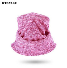 ICESNAKE Motorcycle Face Mask Cold-proof Ski Cycling Scarf Headband Neckerchief Autumn Winter Skiing