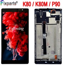 5.5'' For Lenovo K80 K80M P90 LCD Display Touch Screen Digitizer Assembly With Frame For Lenovo K80M LCD Display Replacement