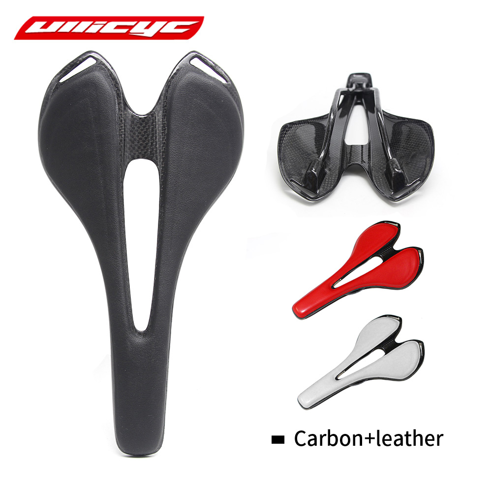 2017 Full Carbon Fiber Road Bicycle Saddle New Mountain Mtb Cycling Bike Seat Saddle Cushion Bike Parts Bicycle Accessories new arrival carbon saddle bicycle bike saddle seat road bike saddle sillin bicicleta sillin carbono sella carbonio