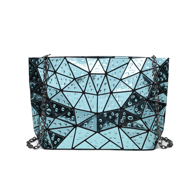 Women's Clutch Chain shoulder hologram bag