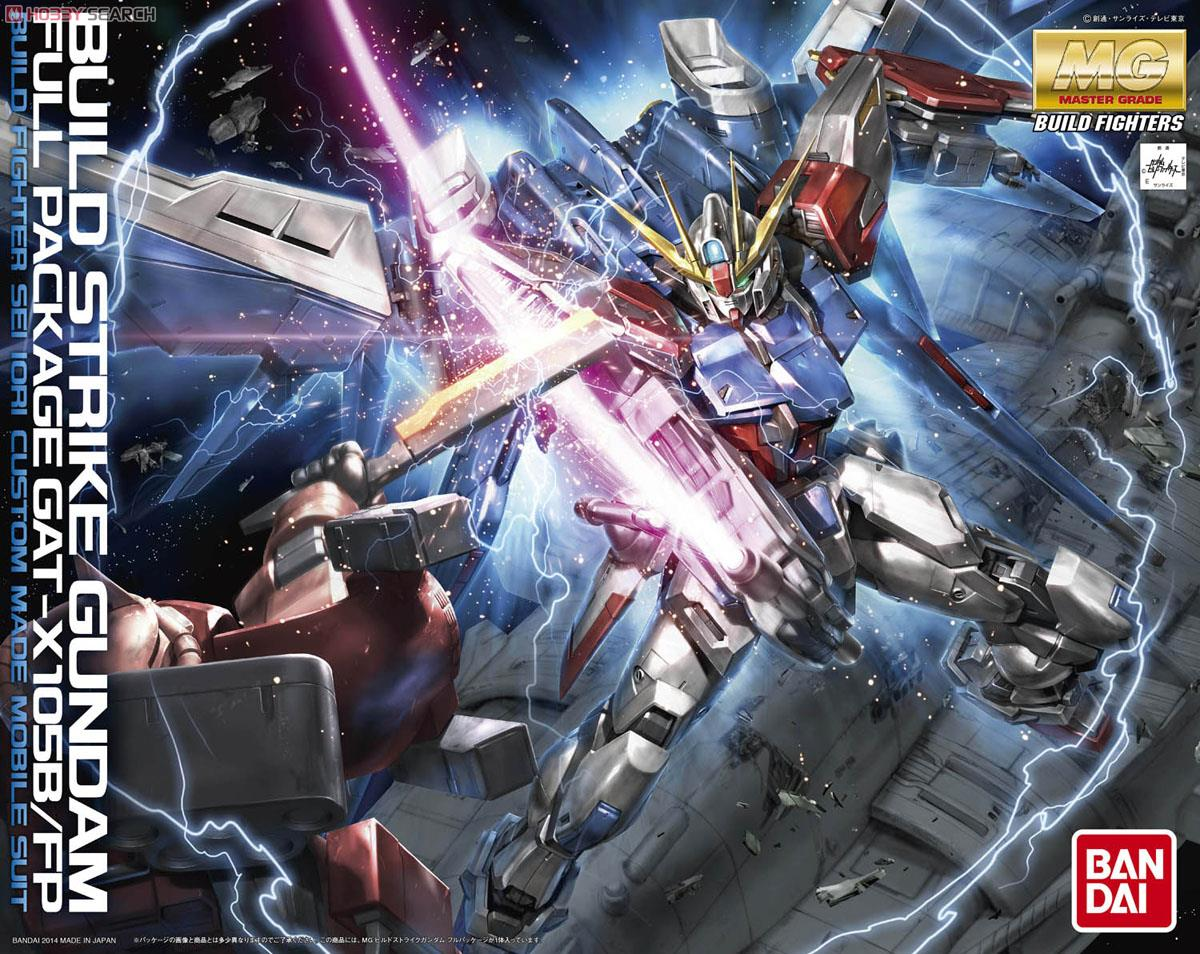Bandai Gundam MG 1 100 Build Strike Mobile Suit Assemble Model Kits Action Figures Plastic Model