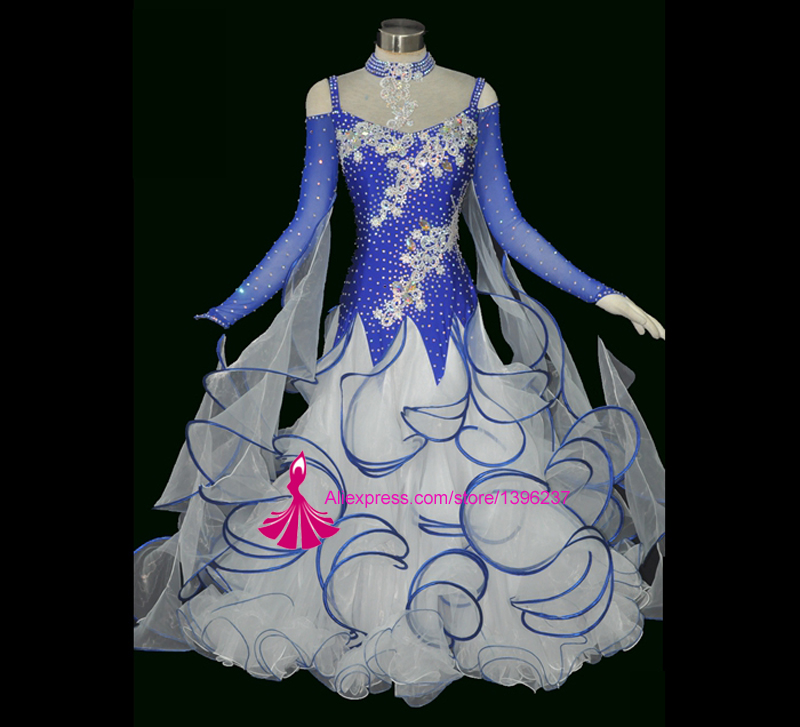 New Competition Ballroom Dance Dress High Quality Waltz Tango Dancing Costume Custom Made Women Ballroom Dresses