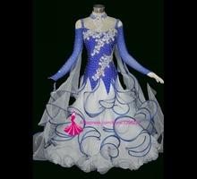 New Competition Ballroom Dance Dress High Quality Waltz Tango Dancing Costume Custom Made Women Ballroom Dresses