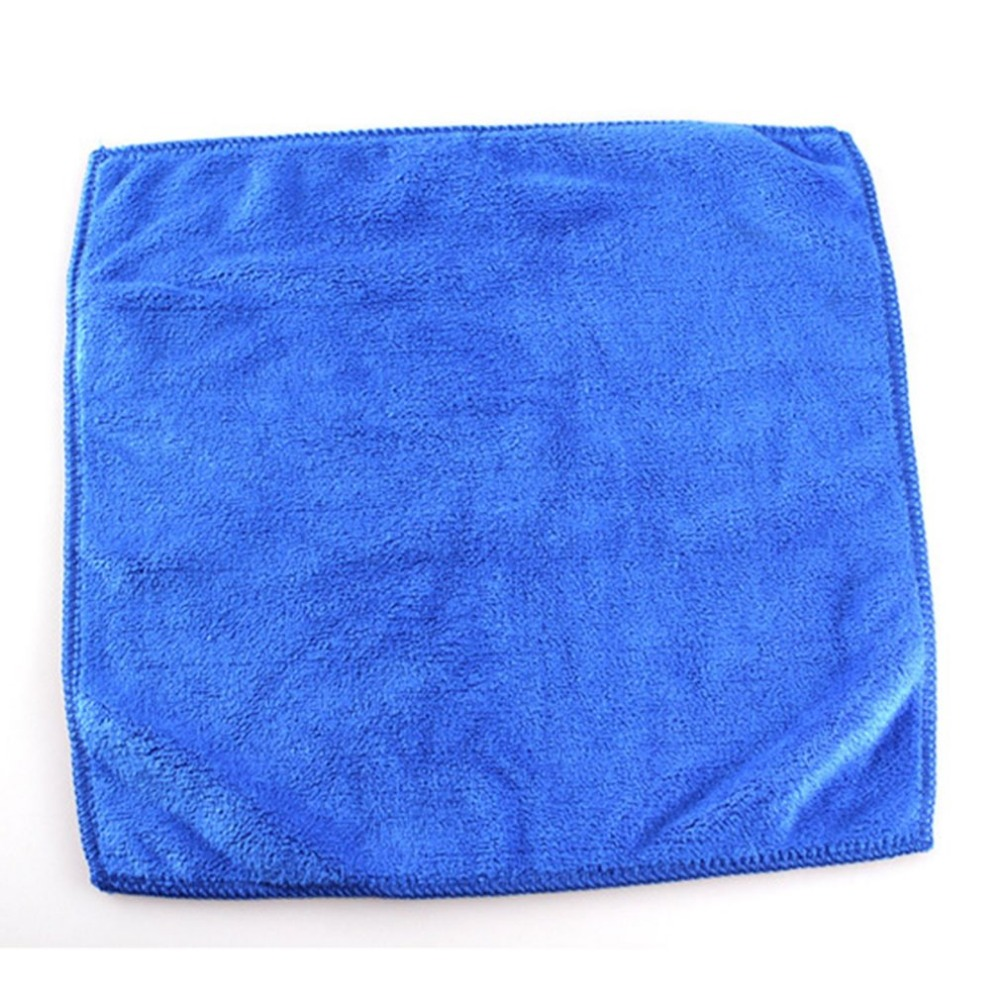 2 Size Car Wash Microfiber Towel Automobile Cleaning Quick Drying Cloth Car Care Hemming Water Absorption Cloth Wash Towel