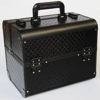 Zwart Lakleer Nieuwe Collectie Sieraden Verpakking Kist Doos Voor Make Case Cosmetica Beauty Organizer Container Dozen