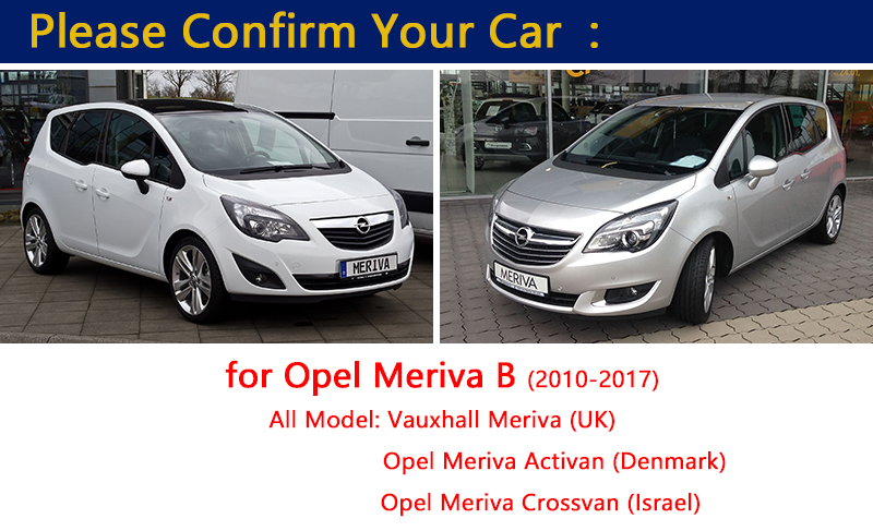 Aliexpress Buy For Opel Meriva B Chrome Door Handle Covers