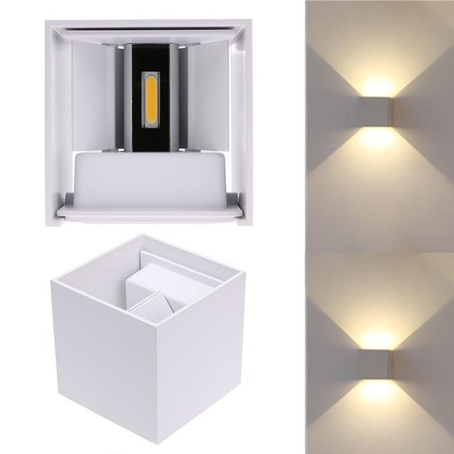 12 W LED Brace applique da Parete Lampada Da Comodino Camera Da ...
