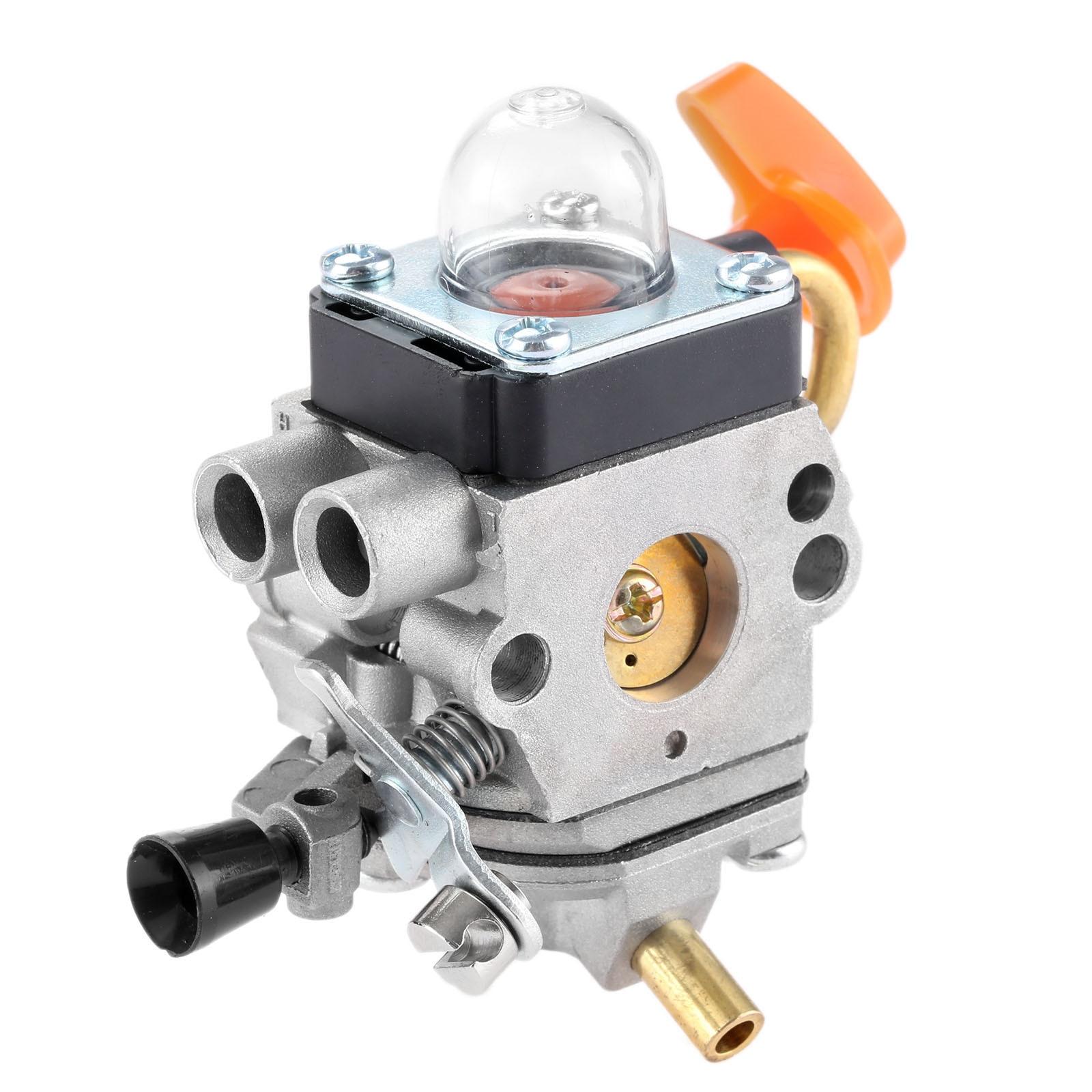 DRELD Carburetor Carb For Stihl FS87 FS90 FS100 KM100 FS110 KM110 FS130 KM130 HT130 Trimmer Engine Spare Part ZAMA C1Q-S173 S174DRELD Carburetor Carb For Stihl FS87 FS90 FS100 KM100 FS110 KM110 FS130 KM130 HT130 Trimmer Engine Spare Part ZAMA C1Q-S173 S174