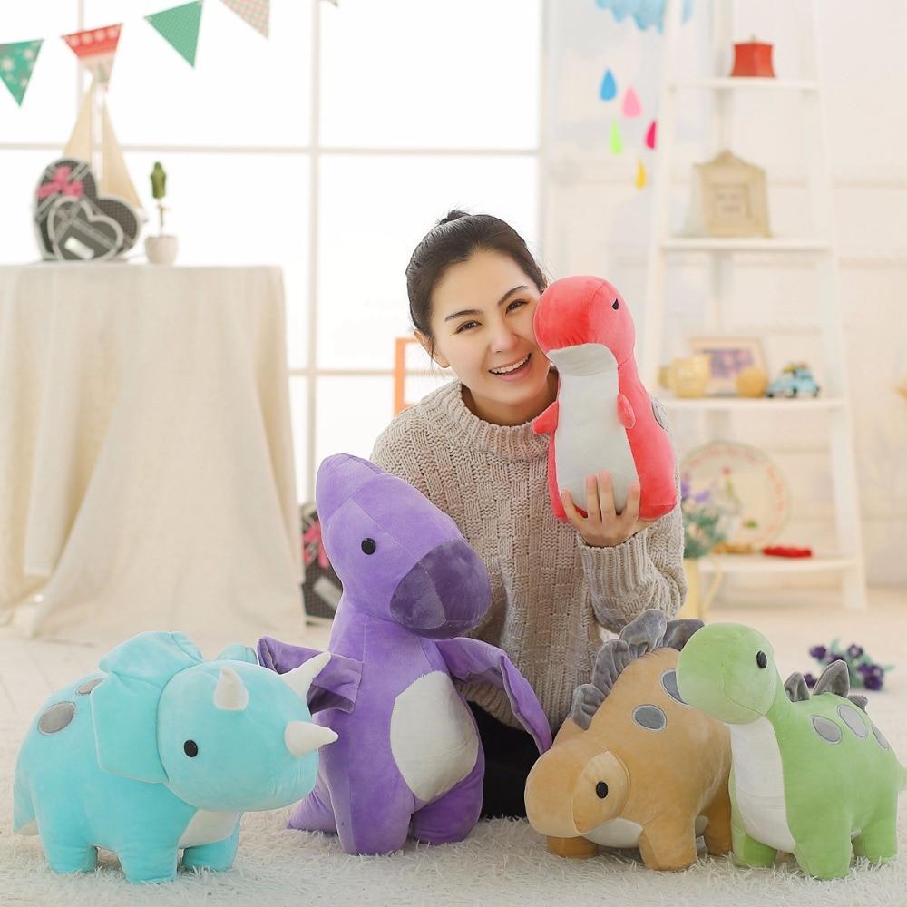 Новый 50 см динозавров плюшевые игрушки мультфильм тираннозавр игрушки куклы для мальчиков для дня рождения и Рождественский подарок Brinquedos