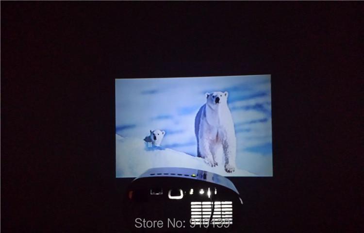 802 projector testing under nighttime indoor 6