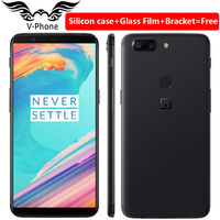 Original Oneplus 5T 6GB 64GB Snapdragon 835 Octa Core 6 01 Full Screen Dual Rear Camera