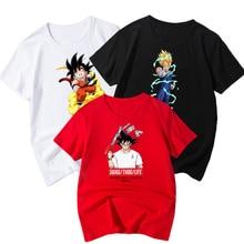 Dragon Ball Printed Children Summer Short Sleeve T-shirt 2019 NEW Streetwear kids T shirts