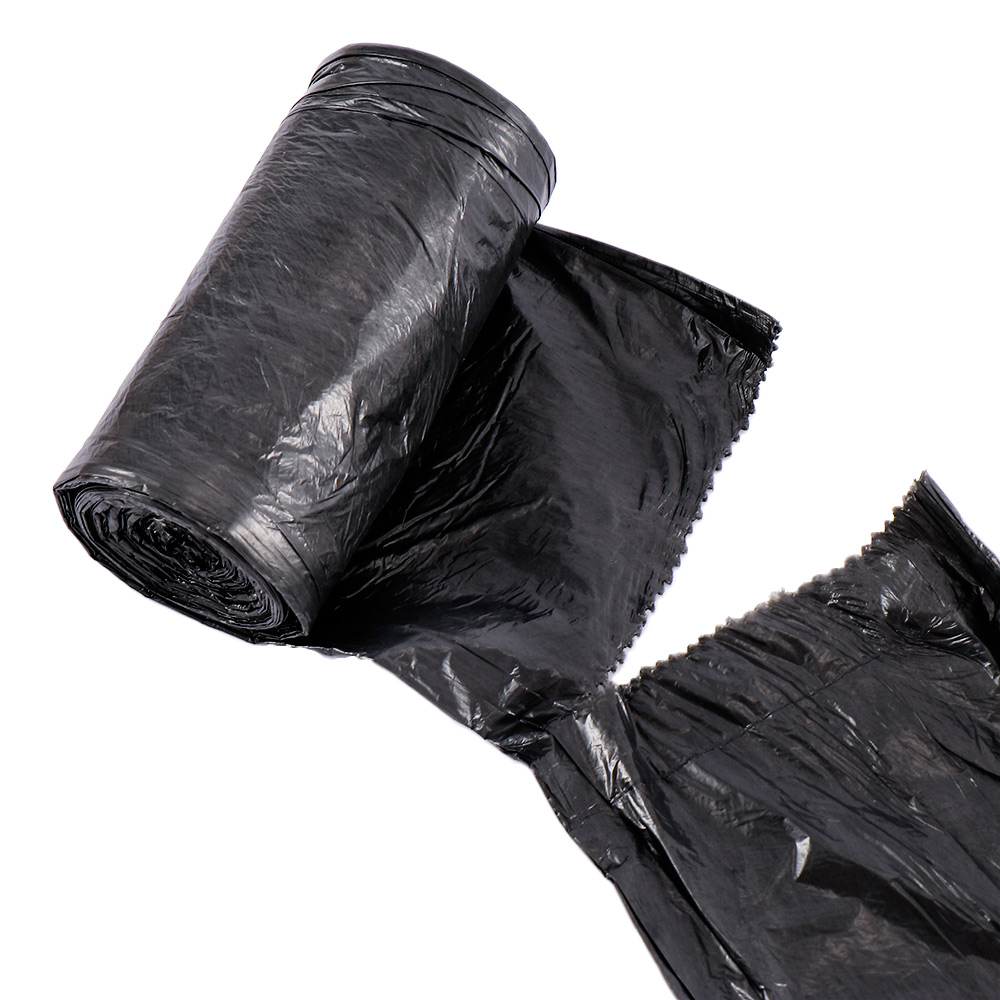 Flat Points Off Rubbish Trash Bags For Kitchen Can Thickening Disposable Garbage Trash Bags Home Office Use Dustbin Bag