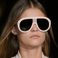 Vazrobe Surdimensionné lunettes de Soleil Femmes Steampunk Lunettes de Soleil pour Femme Marque Designer lunettes de soleil-femmes femelle style de mode dames