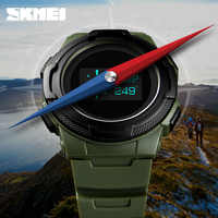 New SKMEI Watch Digital Calorie Stopwatch Bracelet Fashion Women's Sport Wrist Watches Compass Thermometer Electronic Clock 2019