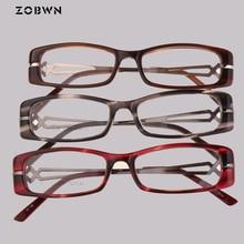 ZOBWN 2018 hot selling glasses mix wholesale cheap new arrival fashion reading Women Men Eyeglasses diamonds montures de lunette