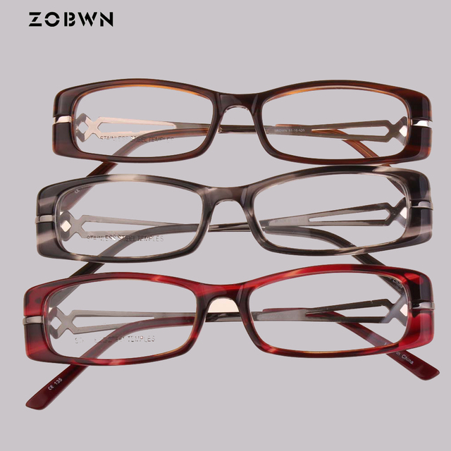 471e4c82e5 ZOBWN 2018 hot selling glasses mix wholesale cheap new arrival fashion  reading Women Men Eyeglasses diamonds montures de lunette