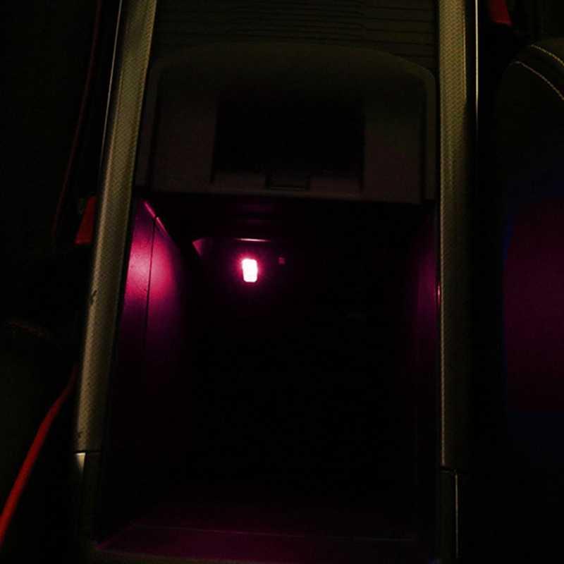 Mobil USB LED Suasana Lampu Lampu Hias Lampu Emergency Universal PC Merah/Biru/Putih Auto Lampu Interior