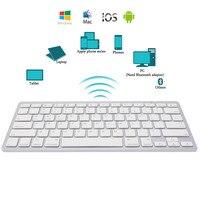 Новый Краткое ультра-тонкий Беспроводной Bluetooth клавиатура для IPad Air 2 Ipad Mini 1 \ 2 \ 3 \ 4 Galaxy вкладки Microsoft