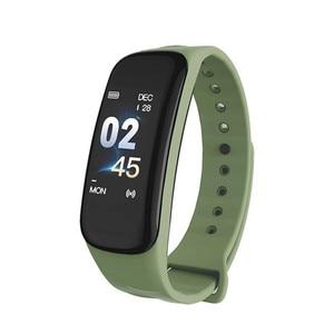Image 5 - 2019 Vòng Tay Thông Minh Màu Sắc Màn Hình Tập Thể Hình Đồng Hồ Huyết Áp Đo Nhịp Tim Theo Dõi Giấc Ngủ Dây Đeo Tay Bluetooth Smart Watch