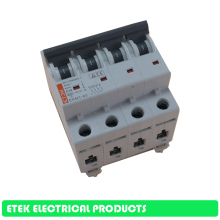 Switch MCB EKM1-63 4P AC C type 400V~ 50HZ/60HZ  Mini Circuit breaker 10A 16A 20A 25A 32A 40A 50A 63A