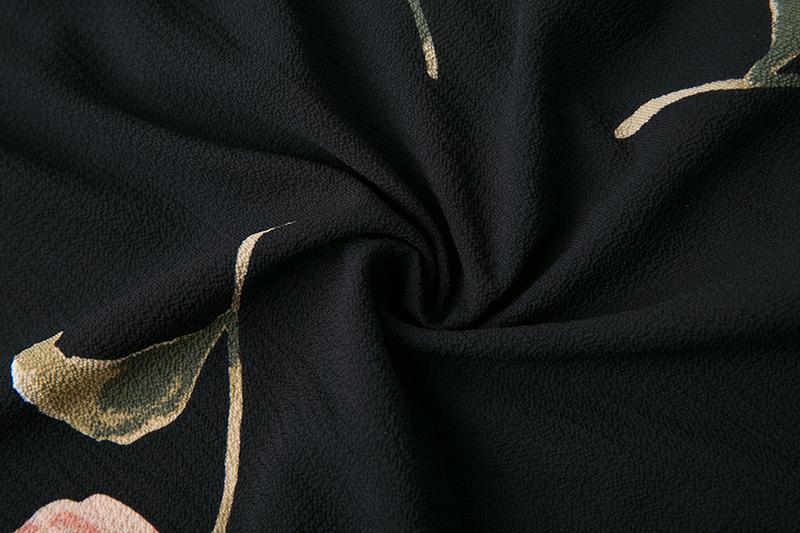 BONGOR LUSS Summer Maxi Dress Women Floral Print Dress V-Neck Sleeveless Spaghetti Strap Backless Side Split Sexy Long Dress (4)