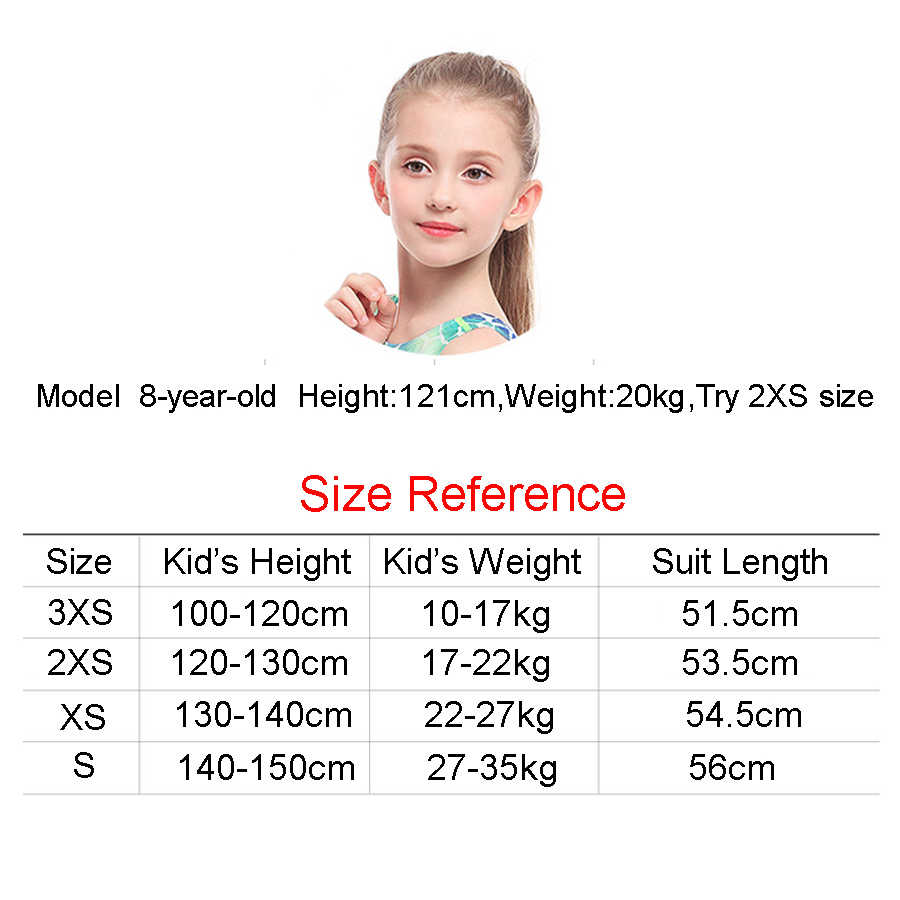 16eb8a69c32da ... Professional Swimwear children print ripple Girls One Piece Swimsuit  kids sexy Training Swimming Suit 2019 wave