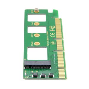 Image 5 - جيمي PCI E 3.0 16x x4 إلى M مفتاح NGFF NVME AHCI SSD محول ل XP941 SM951 PM951 A110 m6e 960 EVO SSD