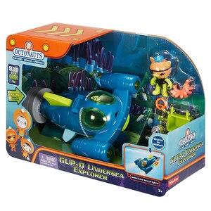 Image 3 - Spedizione gratuita originale Octonauts GUP Q e Kwazii veicolo in mare explorer veicolo action figure giocattolo bambino Giocattoli