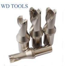 ZD02 23.5mm -25mm XP25 WC04 Drill Type For Wcmt040208  WCMT040208 Insert 22.5mm U Drilling Shallow Hole,indexable insert drills