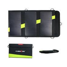 20 Вт 5 В Открытый Солнечной Энергии Банк Sunpower Солнечное Зарядное Устройство Кемпинг Зарядное Устройство для Мобильного Телефона