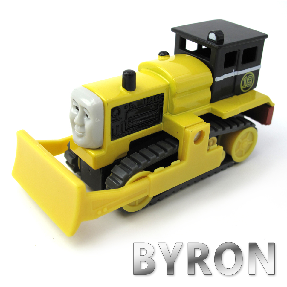 Diecasts Vehicles Thomas T021D BYRON Thomas And Friends Magnetic Tomas Truck Car Locomotive Engine Railway Train Toys for Boys