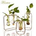 Скандинавское стекло Cuvette цветочный горшок позолоченная железная ваза модный горшок для садового растения плантатор современный цветочны...