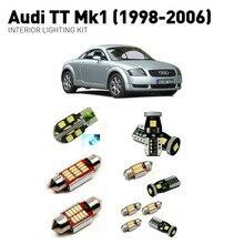 Led interior lights For Audi  tt mk1 1998-2006 15pc Led Lights For Cars lighting kit automotive bulbs Canbus цена