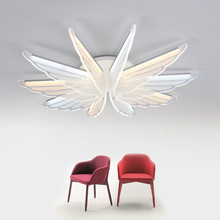 Nordic LED wall lamp modern minimalist bird ultra-thin creative restaurant home living room ceiling