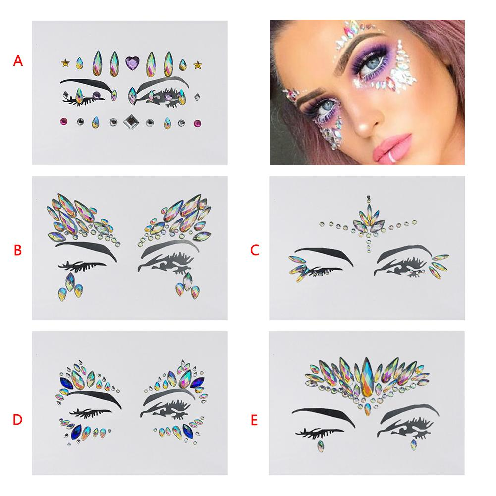 Detail Feedback Questions about 1pcs Music Festival Face Diamond Sticker  Resin Crystal Rhinestone Face Sticker Holiday Party Dance Eyebrows Face  Adhesive on ... f474113986ab