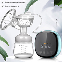 Baby Electric Breast Pump Auto Baby Milk Extractor & Newborn Breast Feeding Bottle Nipple Suction Feeding Products USB Charge