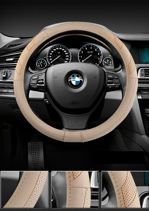 car steering wheel pu leather (8)