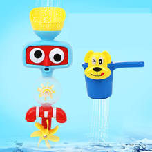 Baby Bath Toys Game for Children Kids Water Spraying Taps Bathroom bathtub Toys Play Sets Early