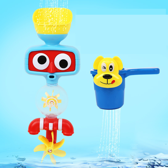 Juguetes del Baño del bebé Juego de Los Niños Niños de Pulverización de Agua Grifos de Baño bañera Juguetes Juegan Juegos de Primeros Juguetes Educativos Regalos