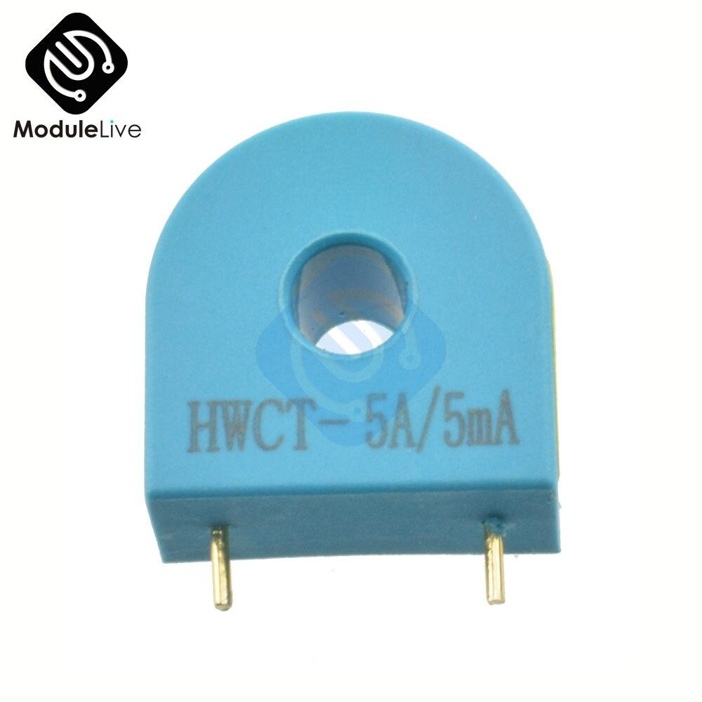 2pcs HMCT103C 5A/5MA Micro Current Transformer Sensor Module Precision Power Measurement Protection 3000V Isolation Pressure