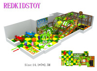 Exported to Estonia Custom made Indoor Play Center With Electric Playground & Tables HZ 171102