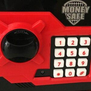 Image 5 - Eworld Mini hucha de seguridad para niños, caja de dinero ATM, contraseña electrónica, masticación de monedas, máquina de depósito en efectivo, regalo