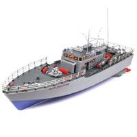 1:115 Wireless Remote Control Ship Aquatic Huzhou Level Torpedo RC Boat Warship Model Super Large Boat Childrens Gift Toys