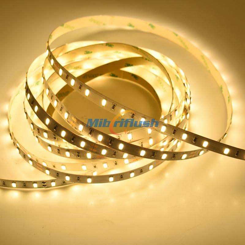 CRI90/CRI95 60leds/M 50-55LM/led 5630 SMD LED Strip light 10MM PCB Decor LED lamp Tape lighting String More Bright DC12/24V