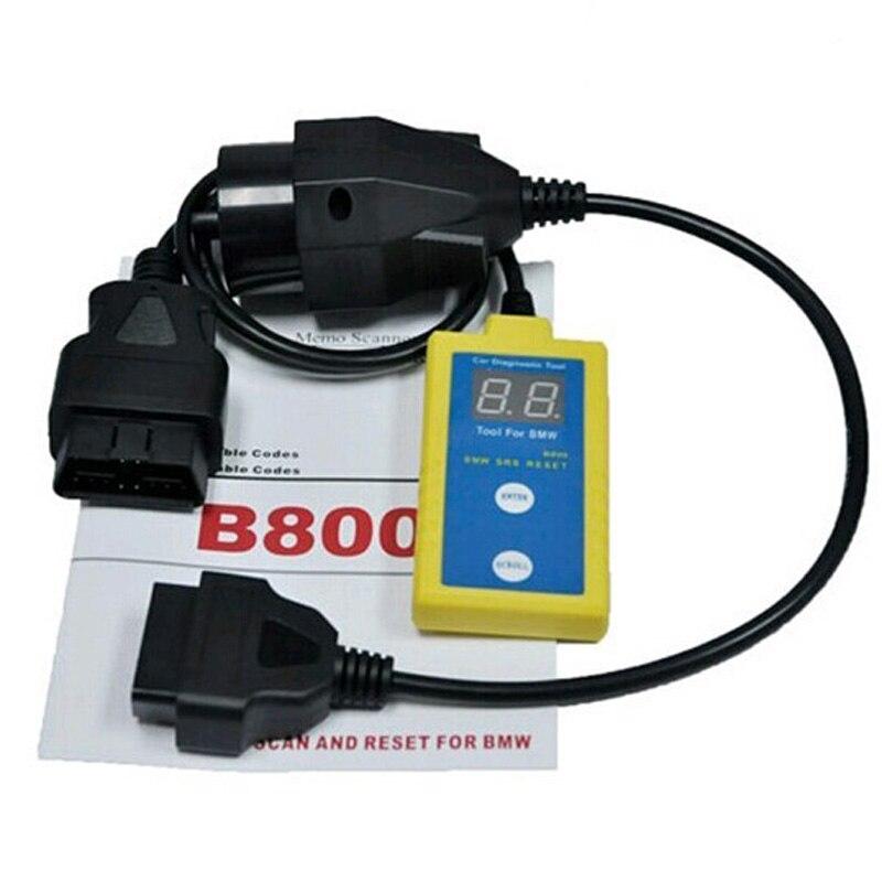 Nuevo Top B800 Airbag SRS Restablecer Herramienta de Diagnóstico OBD Vehículo A