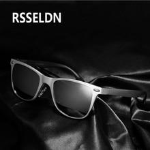 RSSELDN Classic Fashion Square Glasses  Sun glasses for Men Sunglasses Vintage High-grade Aluminum Magnesium Men Sunglasses